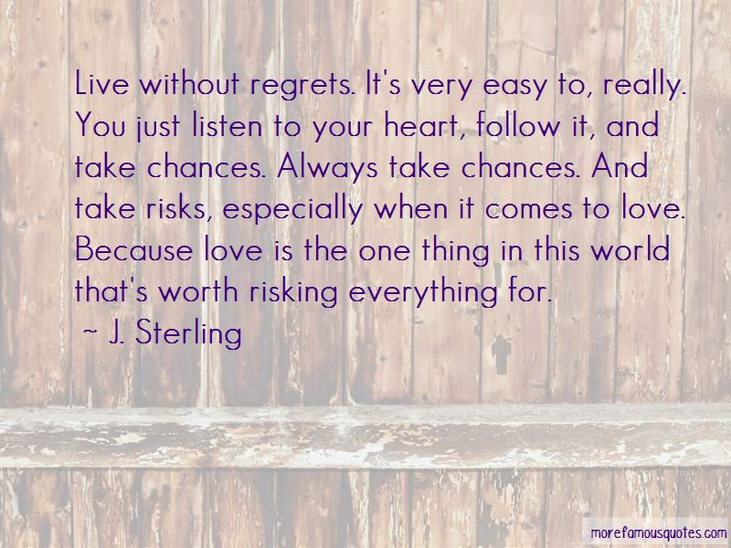Quotes About Risking For Love