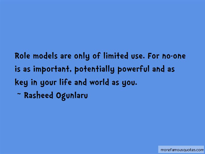 Quotes About Role Models In Your Life