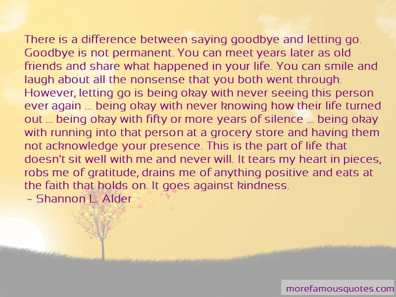 Quotes About Running Into Old Friends