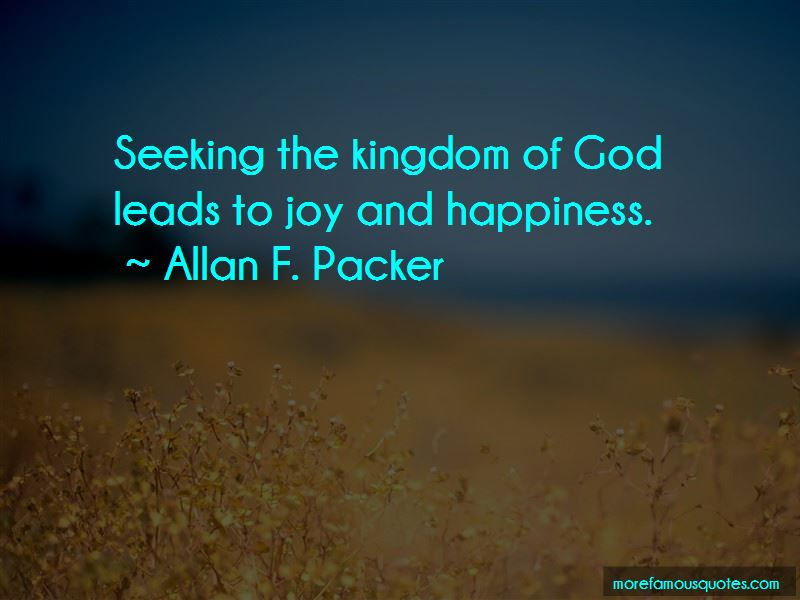 Quotes About Seeking The Kingdom Of God