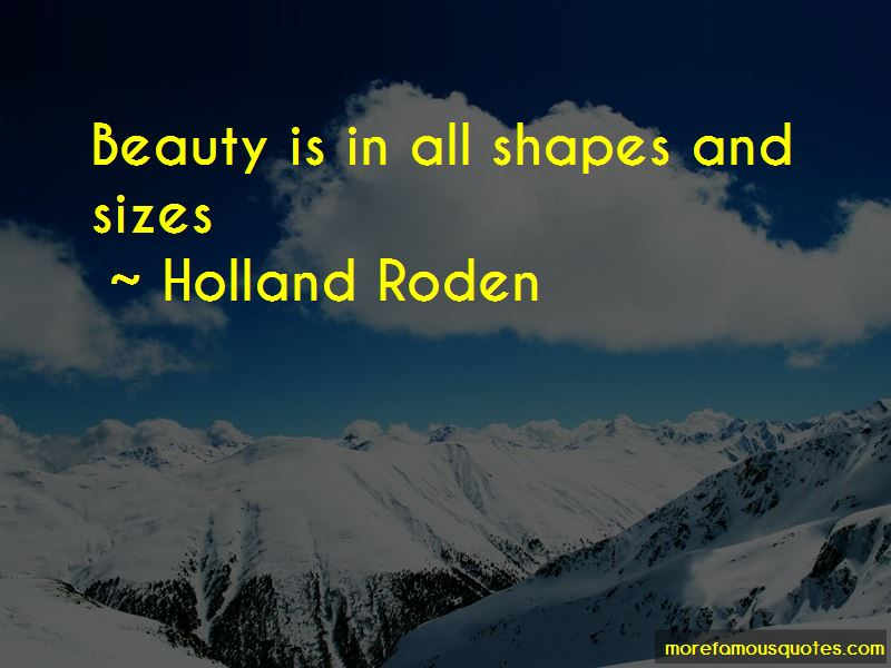 Quotes About Shapes And Sizes