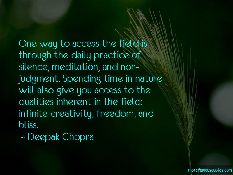 Quotes About Spending Time In Nature