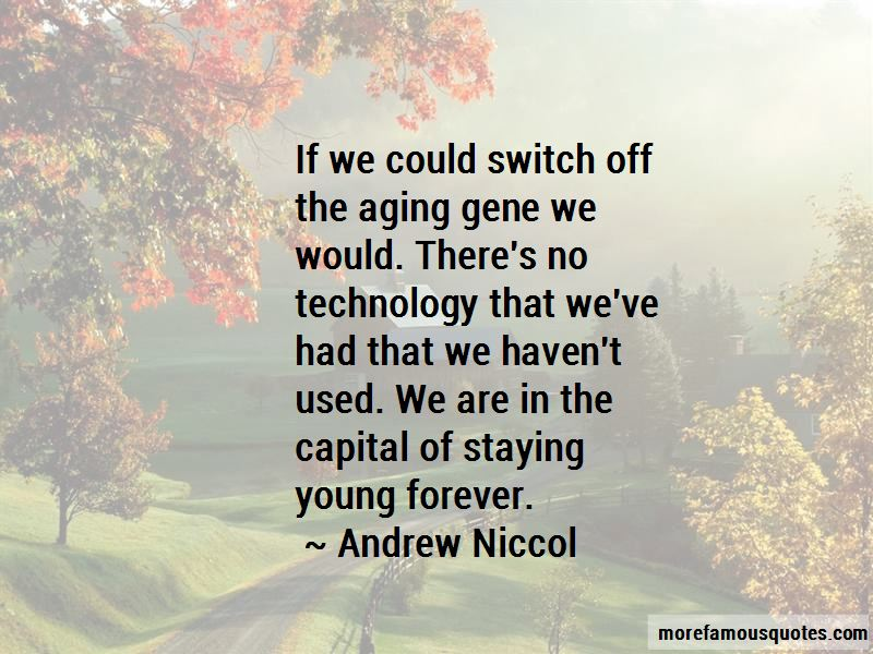 Quotes About Staying Young Forever