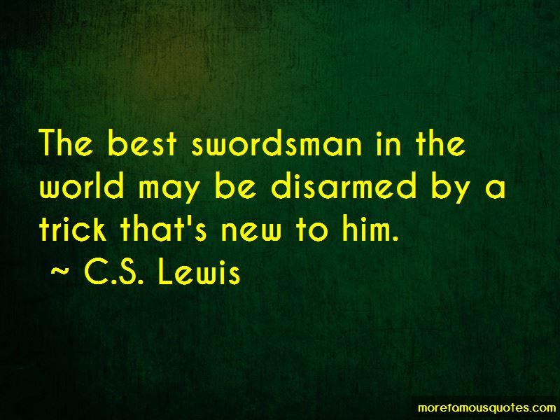 Quotes About Swordsman
