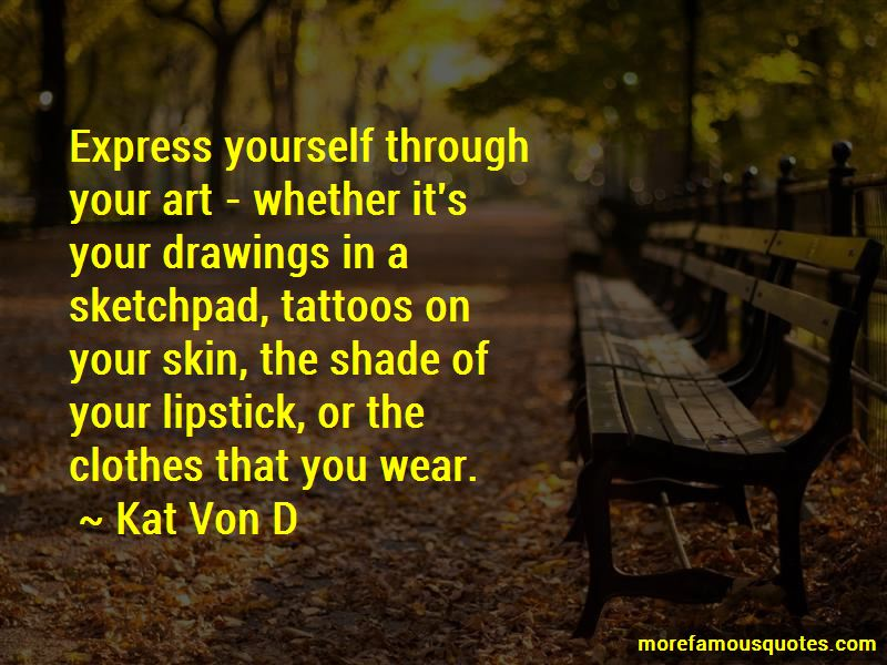Tattoos And Art Quotes Pictures 2