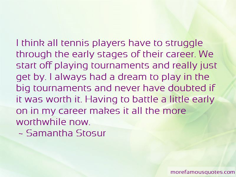 Quotes About Tennis Players