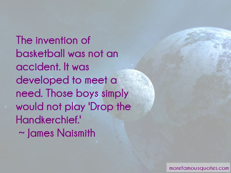 Quotes About The Invention Of Basketball