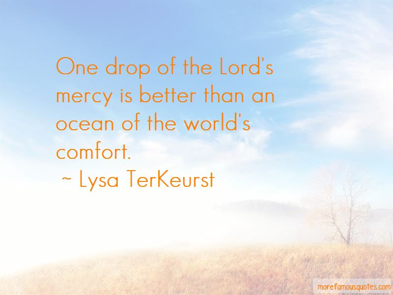 The Lord's Mercy Quotes Pictures 3