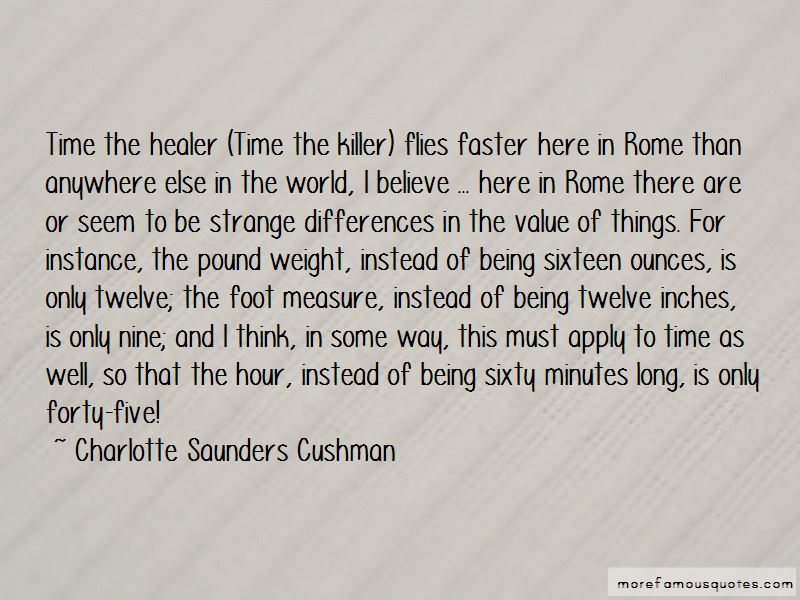 Quotes About Time Being A Healer