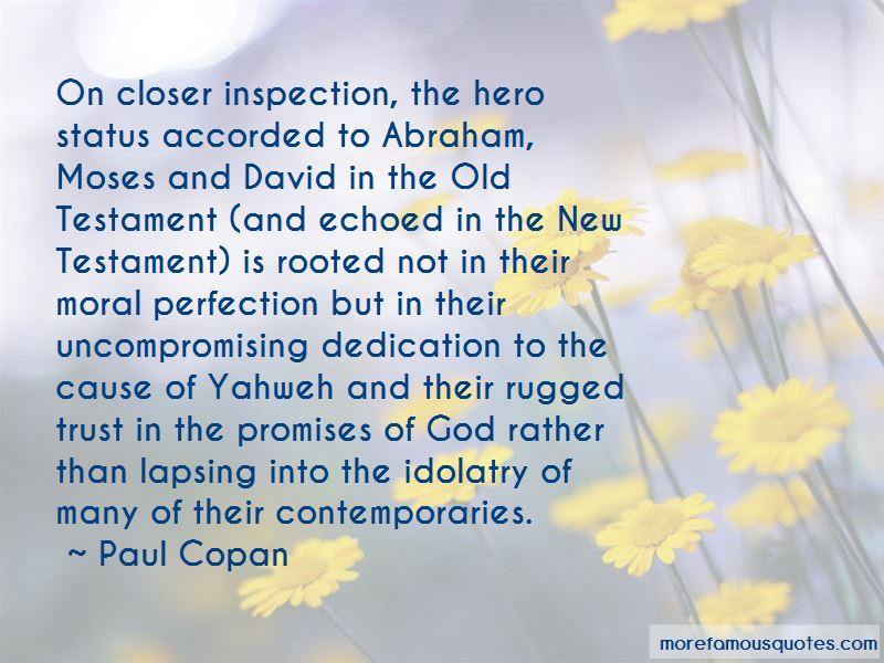 Trust From The Old Testament Quotes Pictures 2