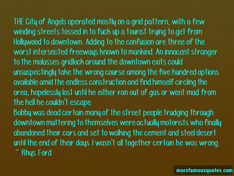 Walking Downtown Quotes Pictures 4
