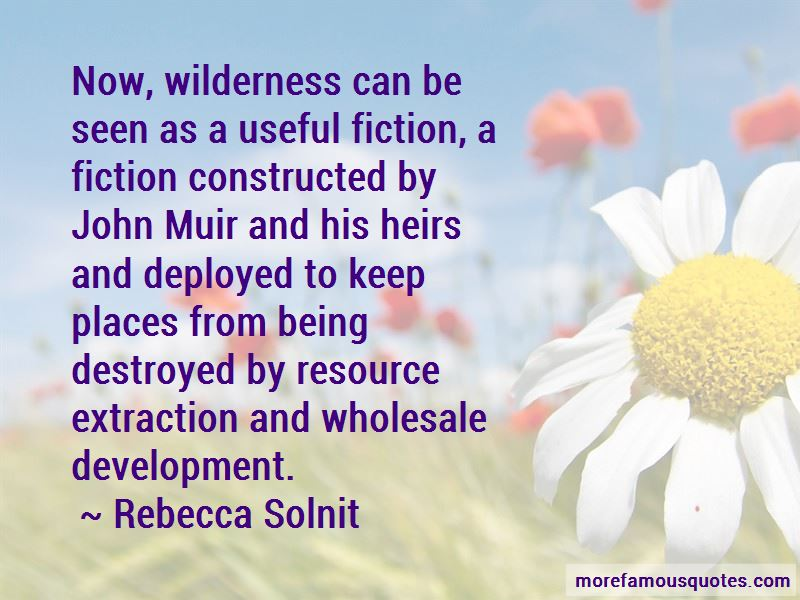 Quotes About Wilderness John Muir