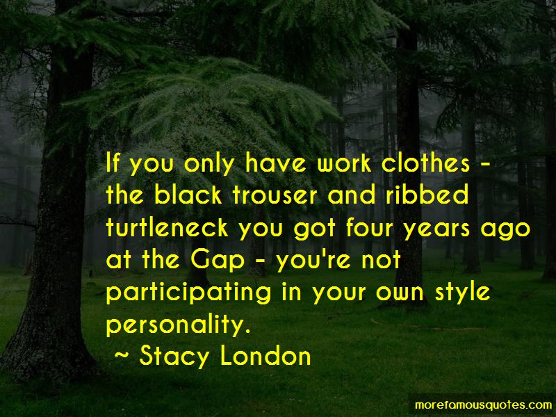 Work Clothes Quotes Pictures 3