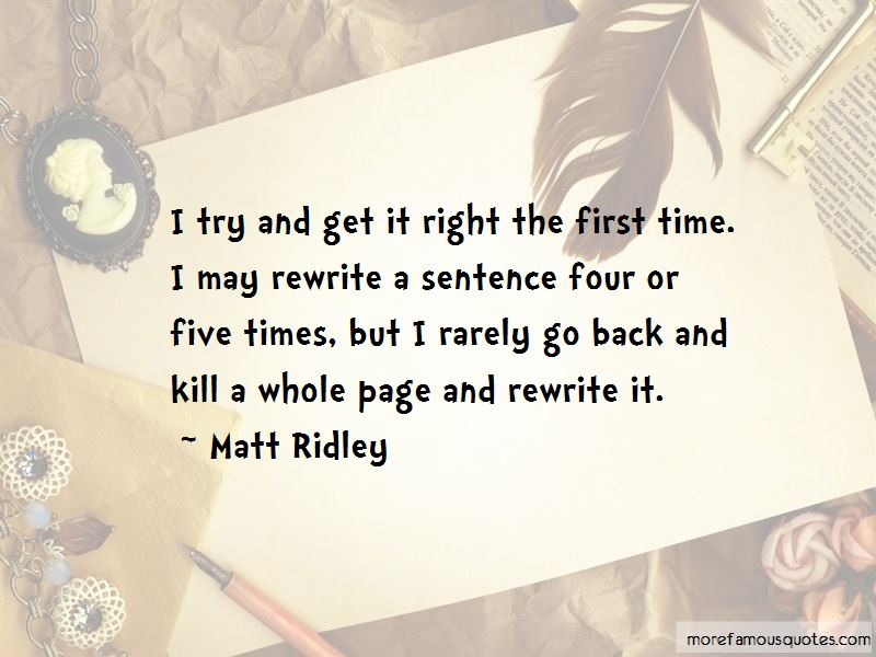 Right The First Time Quotes Pictures 2