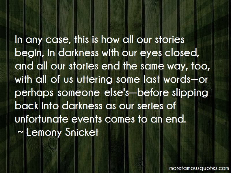 Series Of Unfortunate Events Quotes Pictures 4