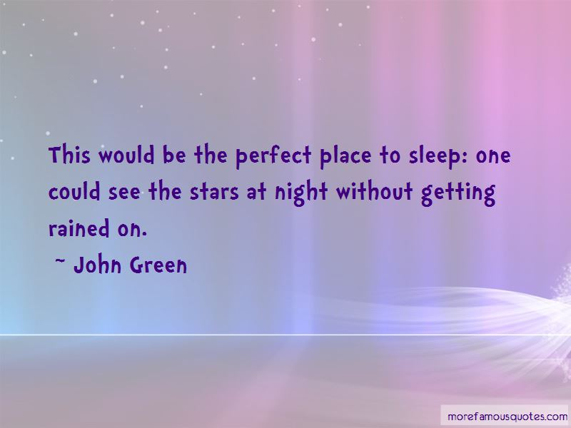 The Perfect Place Quotes