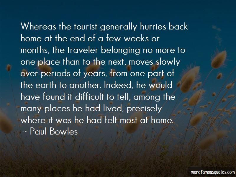 Traveler Vs Tourist Quotes