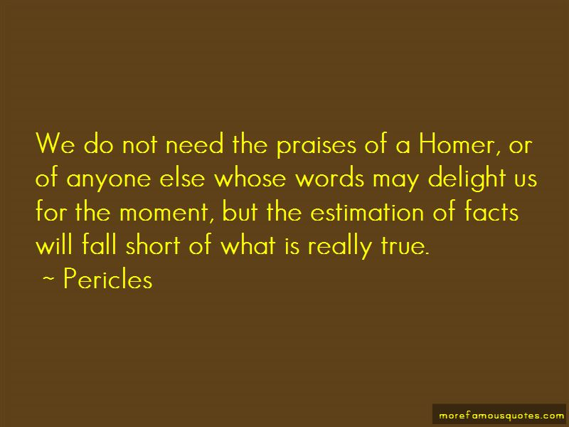 True Facts Short Quotes