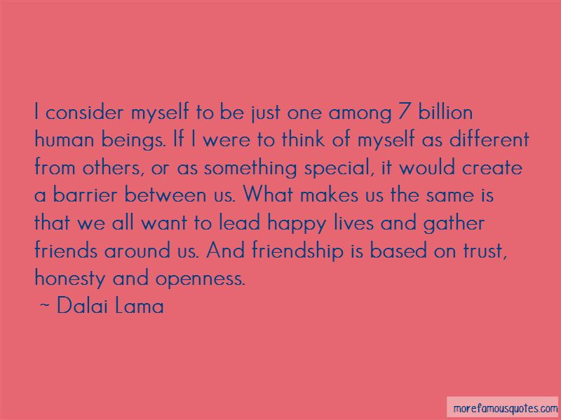 Trust Among Friends Quotes