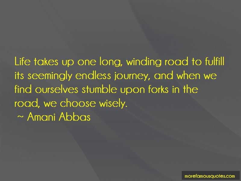 Winding Road Quotes