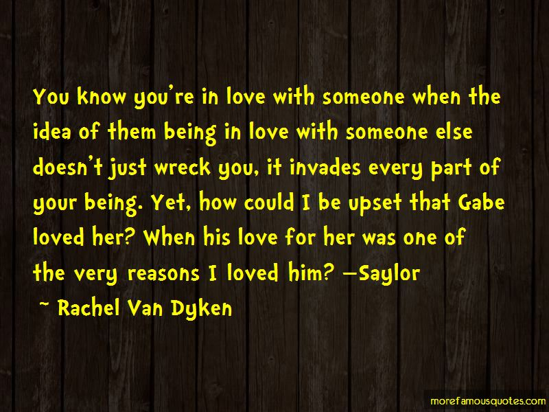 You Know You're In Love With Someone When Quotes