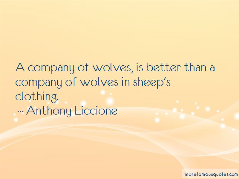 A Company Of Wolves Quotes