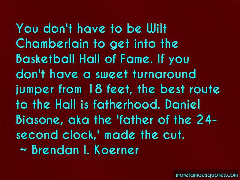 Basketball Hall Of Fame Quotes