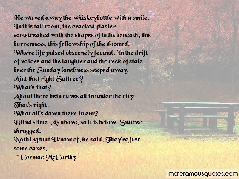 Beneath The Smile Quotes