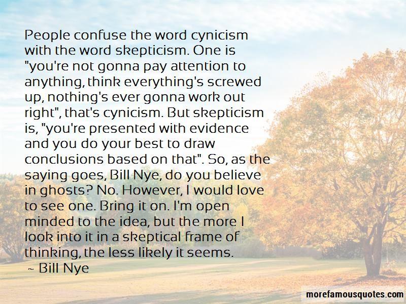 Best Nye Quotes