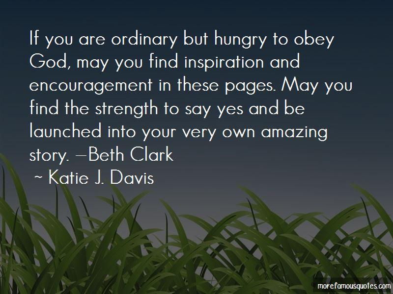 Beth Clark Quotes