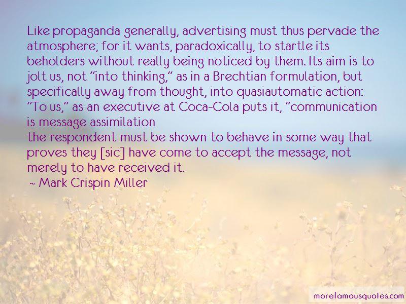 Coca Cola Executive Quotes