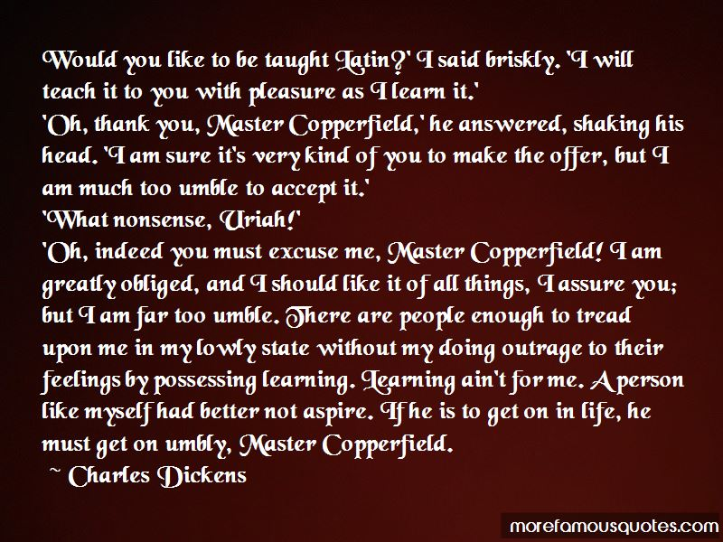 Copperfield Quotes