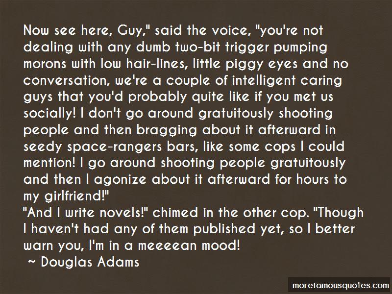 Cop's Girlfriend Quotes