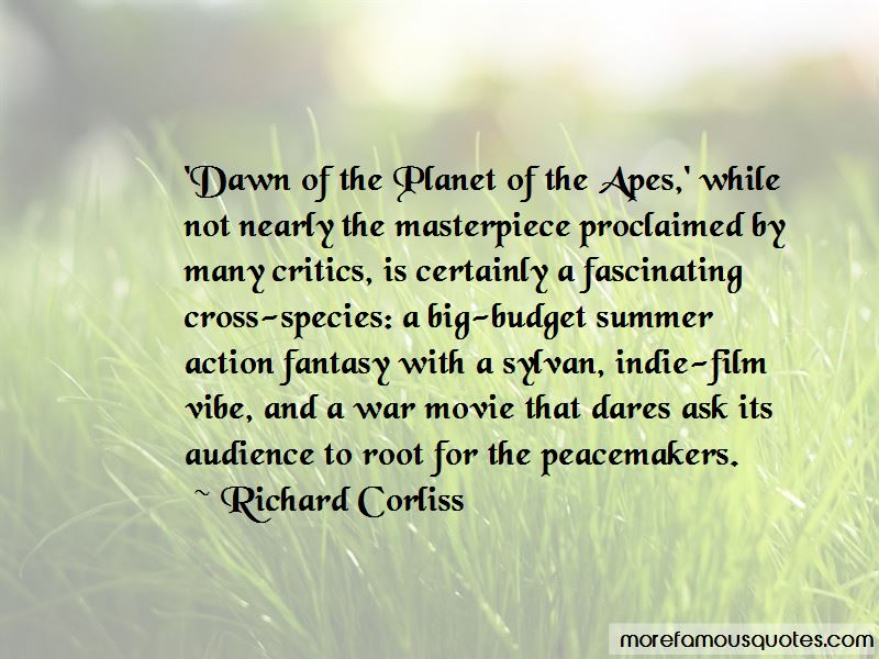 Dawn Of Apes Quotes