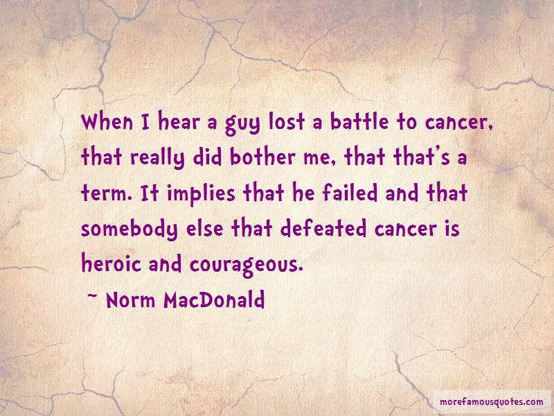 Defeated Cancer Quotes