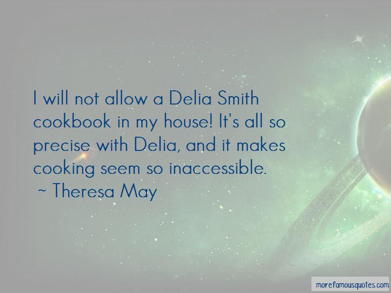 Delia Smith Cooking Quotes