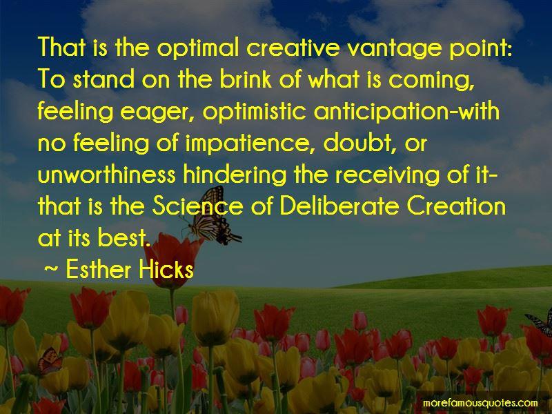 Deliberate Creation Quotes