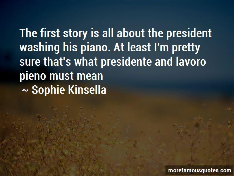 El Presidente Quotes
