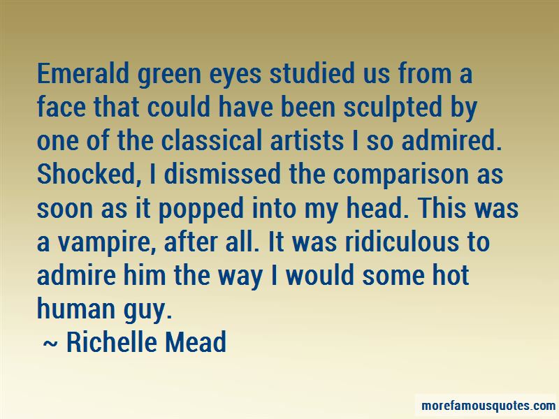 Emerald Green Eyes Quotes: top 15 quotes about Emerald Green ...
