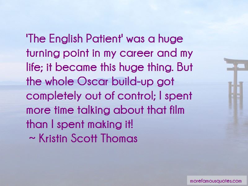 English Patient Quotes