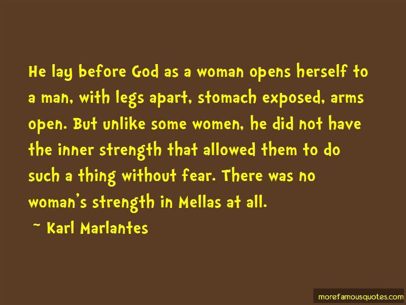 Fear No Man But God Quotes