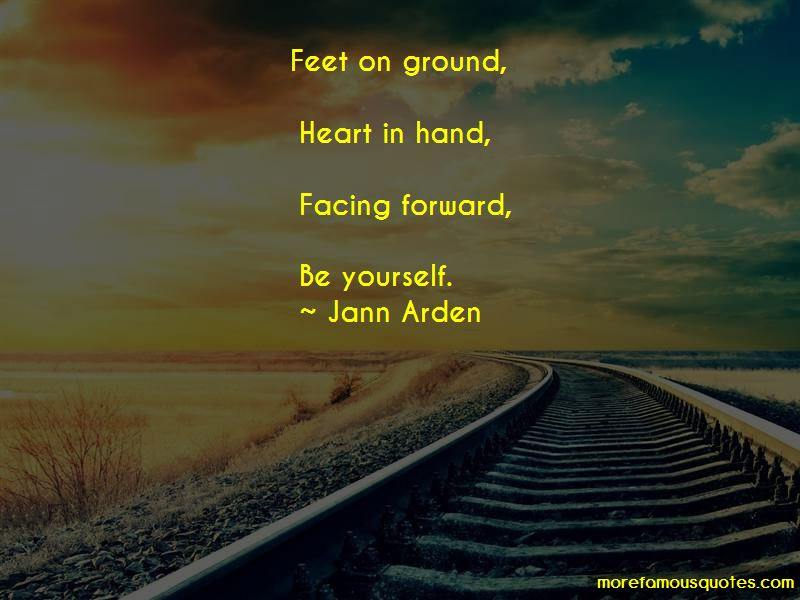 Feet On Ground Quotes