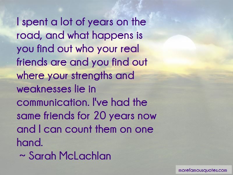 Friends Can Count On Me Quotes