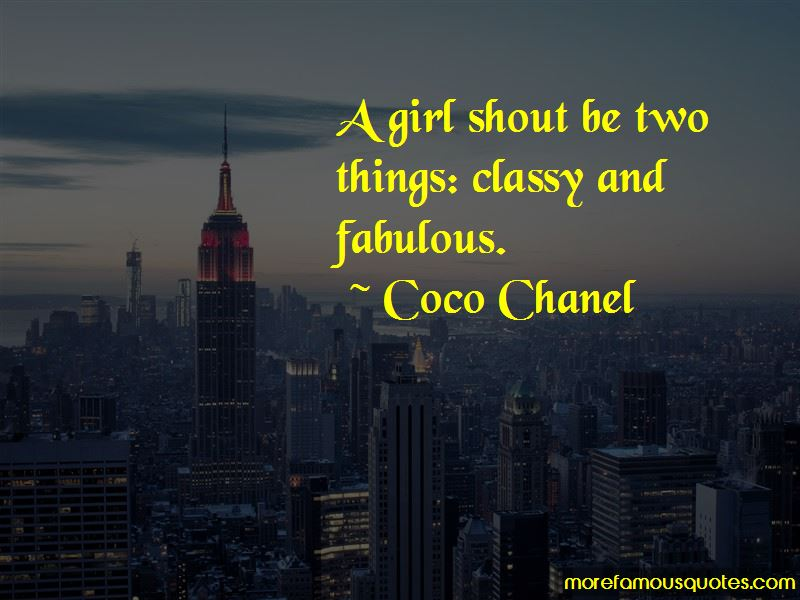 Girl Classy Quotes Pictures 2