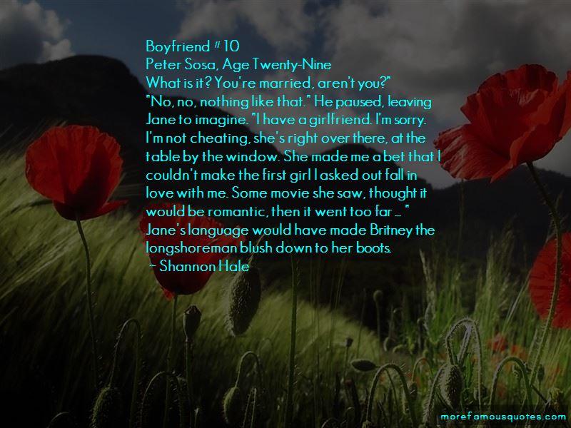 Girlfriend To Boyfriend Romantic Quotes