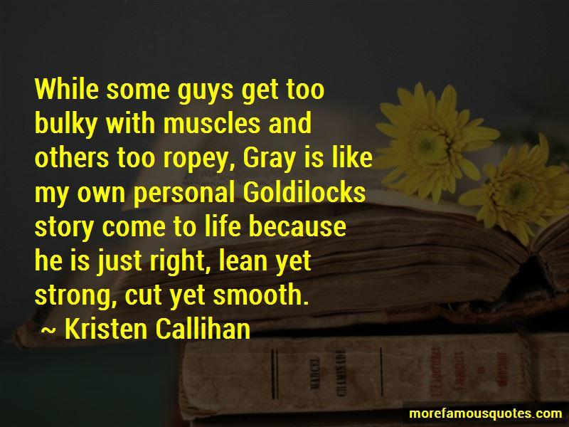 Goldilocks Story Quotes