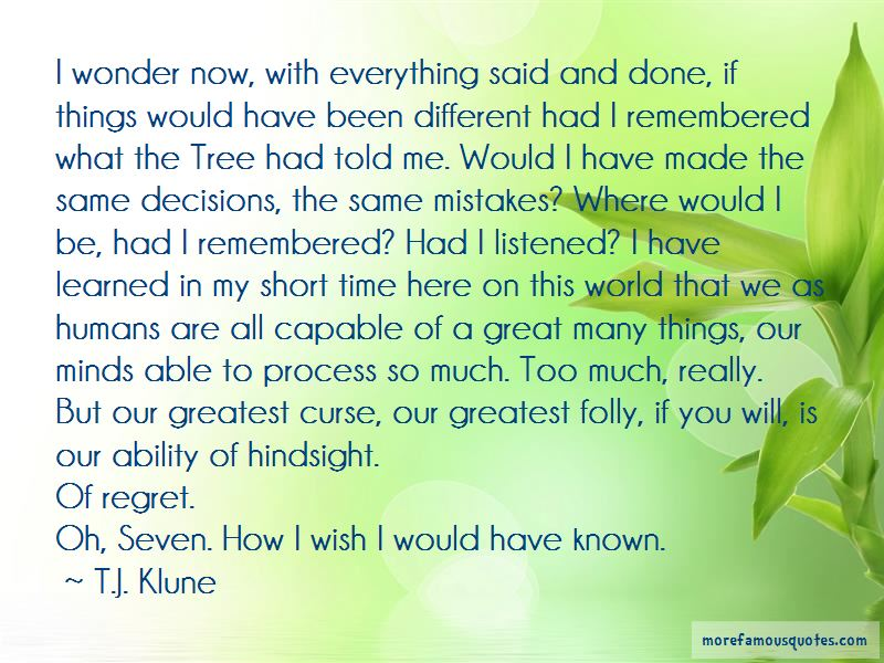 How I Wish Things Were Different Quotes Pictures 2
