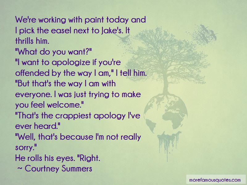 I'm Not Really Sorry Quotes Pictures 3
