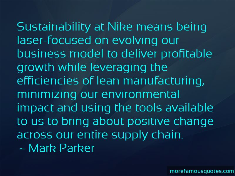 Lean Supply Chain Quotes