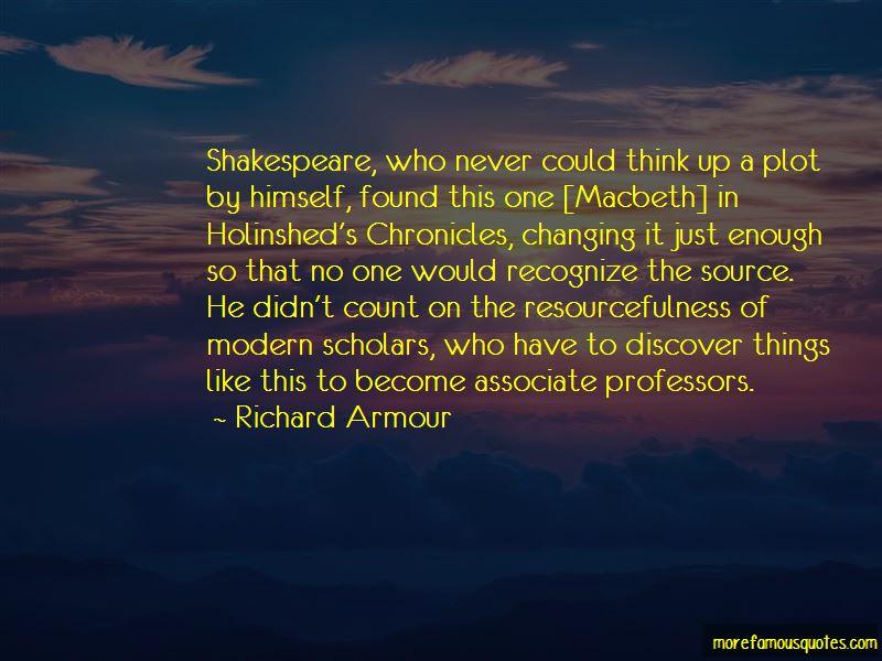 Macbeth Plot Quotes